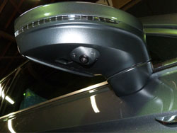 360 degree camera fitted to new Tiguan