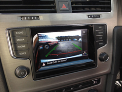 golf mk 7 reversing camera