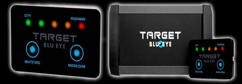 Target Blu Eye Traffic Safety System Tetra Warning