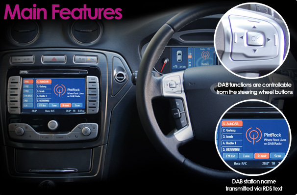Radio 1xtra Frequency Fm Car >> Integrated DAB for cars   Cheltenham   Gloucestershire