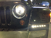drl jeep rangler led