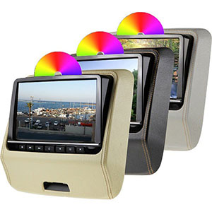 dvd players active headrests