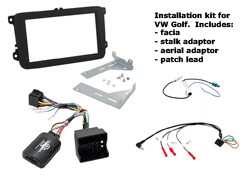 head unit installation kit