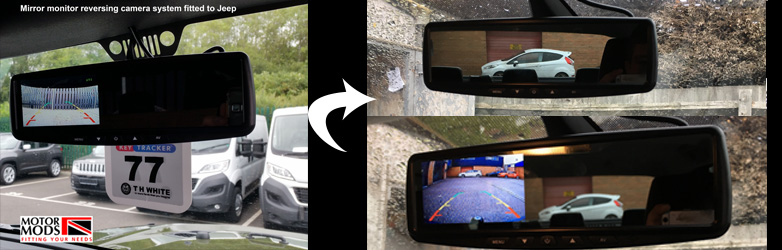 mirror monitor reverse camera options