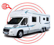 motorhome accessories - stolen vehicle recovery tracker