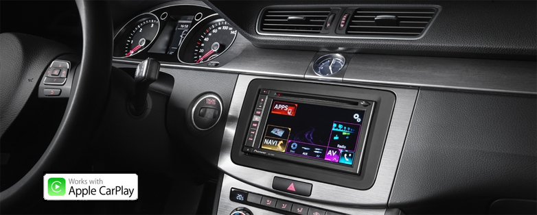 pioneer avic-f960dab installed in vw passat