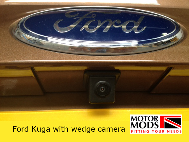 how to connect reverse camera ford fusion synch