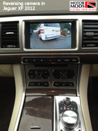 rear camera jaguar xf