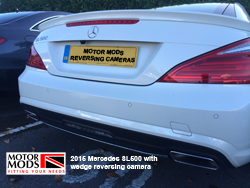 rear camera mercedes sl500