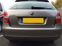 rear flush parking sensors