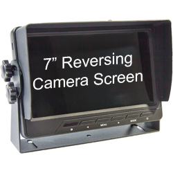 reversing camera dash screen