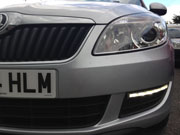 skoda roomster drl fitted