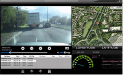 incar dvr camera footage
