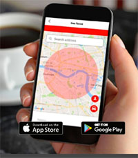vodafone protect and connect tracker