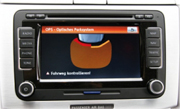 vw optical parking sensor system