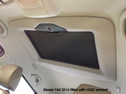yeti H300 sunroof inside